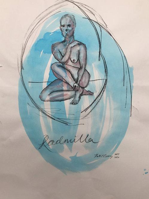 """Sketch  """"Radmilla"""""""
