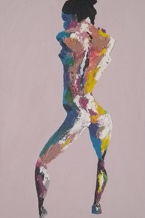 """Turning"" - Original Painting"