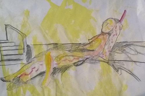 """Sketch """"Golden"""""""