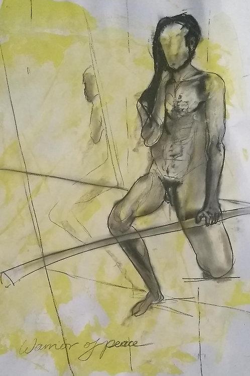 "Sketch  ""Warrior of Peace"""