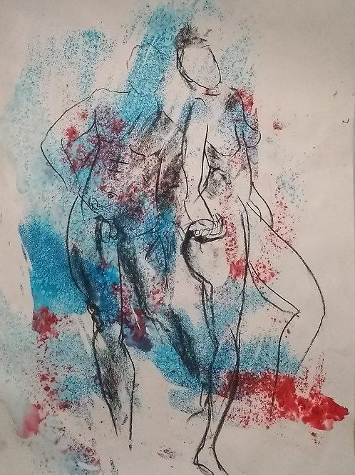 "Sketch  ""Dancers"""
