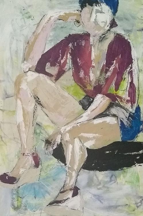 """Wedge"" - Original Painting"