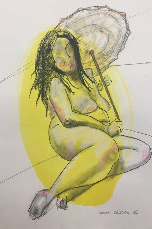 """Sketch  """"Parasol"""""""