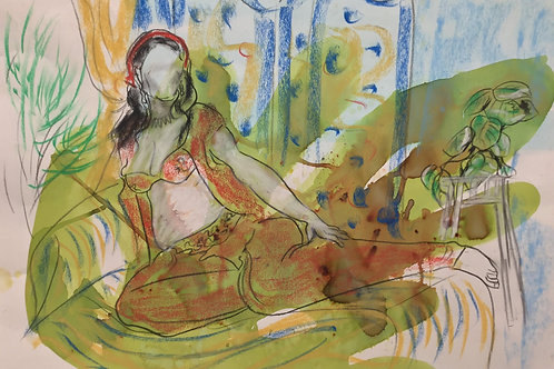 "Sketch  ""Matisse Belle"""