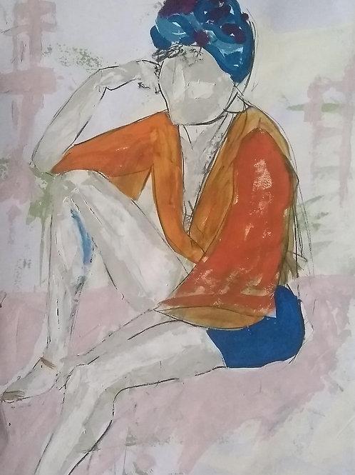"Sketch ""Summer Orange"""