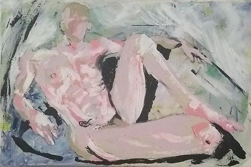 """Pink Ink"" - Original Painting"