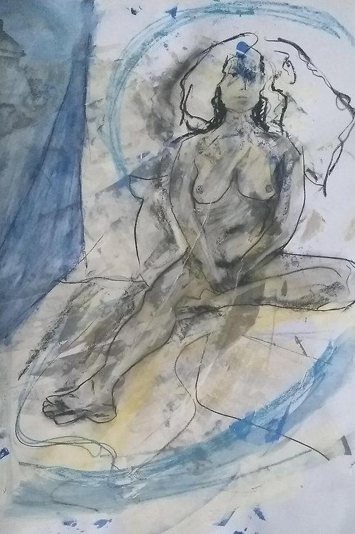 """Sketch  """"Wild Blue"""""""