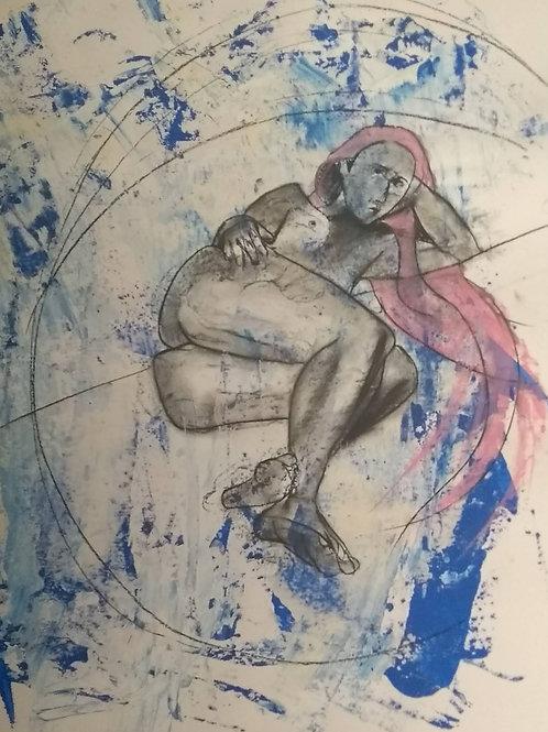 """Lockdown Sketch  """"Blue Curl"""""""