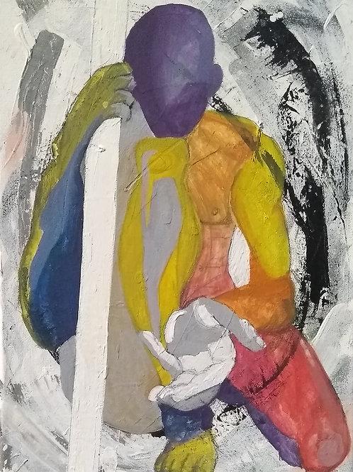 """Beckoning. Energy!"" - Original Painting"