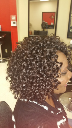 Crochet curls