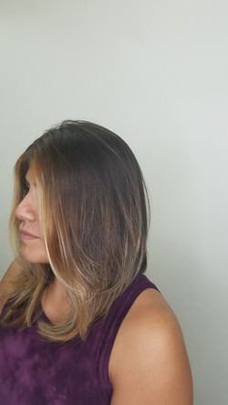 A-line cut and style