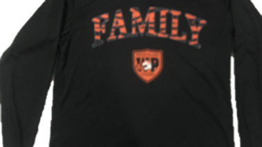Long Sleeve FAMILY Shirt - BLACK