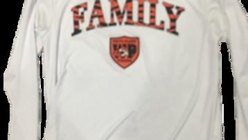 Long Sleeve FAMILY Shirt - WHITE