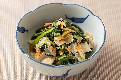 小松菜と湯葉の煮浸し.jpg