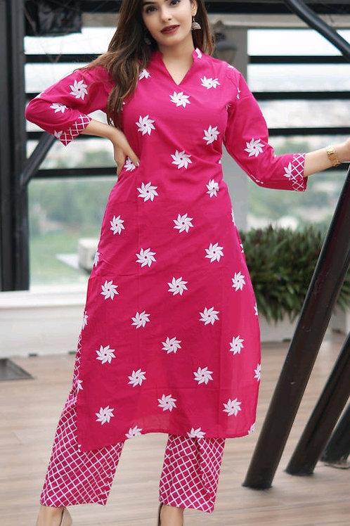 Adrika Sensational Women Kurta Set
