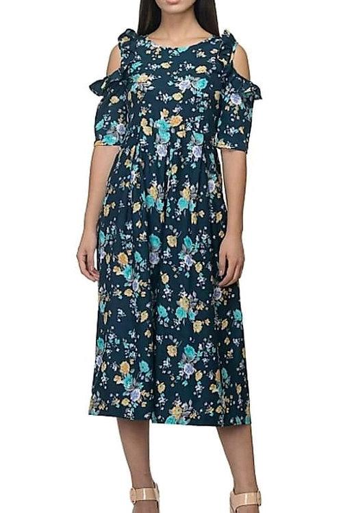 American Crepe Women's Printed jumpsuit