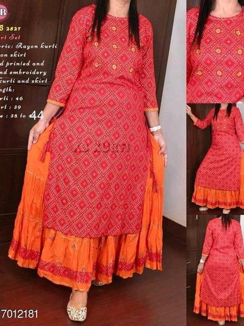 Aishani Pretty Women Kurta Set