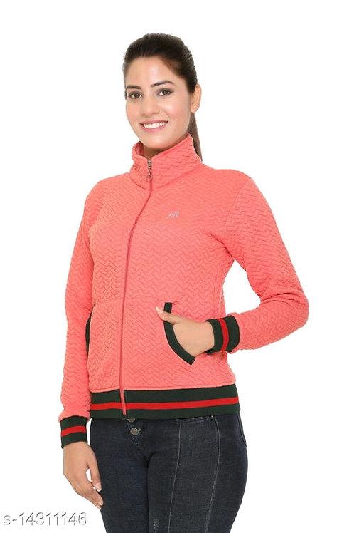 Classy Graceful Fleece Women Sweatshirts