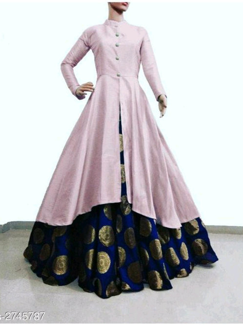 Anarga Women's Bangalori Silk Kurta Set