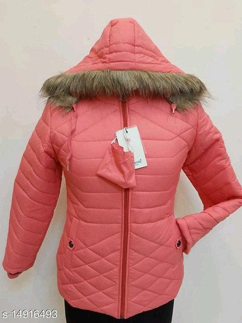 Comfy Feminine Women Jackets & Waistcoat