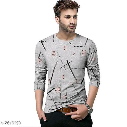 Classic Stylish Cotton Solid Men's T-shirts Vol 7
