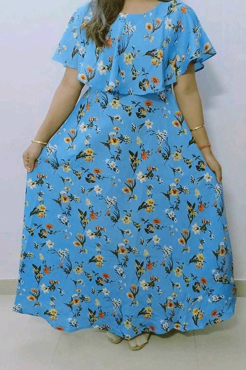 Adelyn Stylish American Crepe Printed Dress