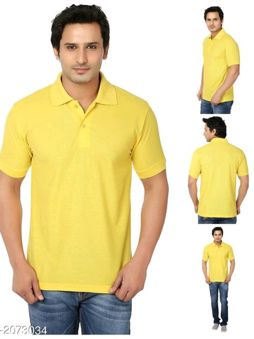 Adorable Cotton Blend Men's Tshirt