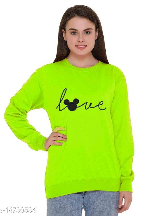 Classy Retro Women Sweatshirt