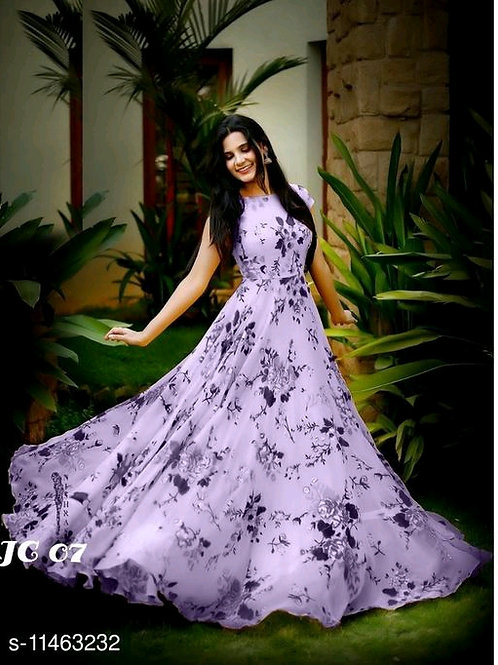 Beautiful woman gown