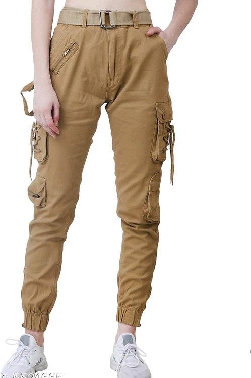 Classy Graceful Women Women Cargo Trouser