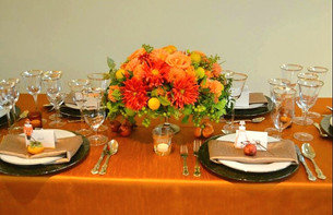Thanksgiving Tablescape Rentals by Standard Rentals
