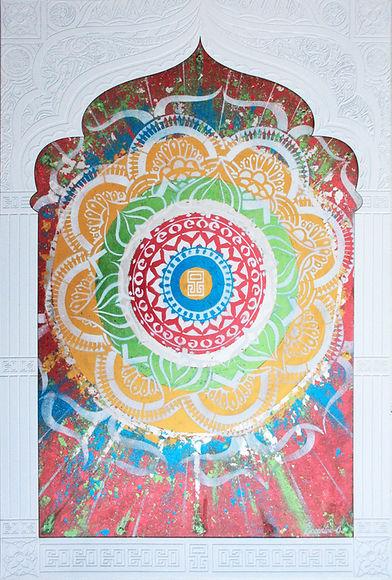 Laser Engraved Indian Art