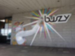 Milton Keynes Street Art Mural MK50 Urba