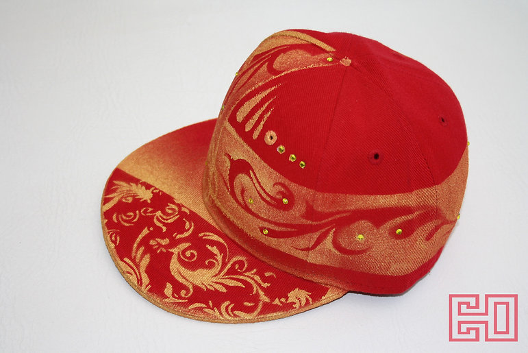 Airbrush Customised New Era Hats