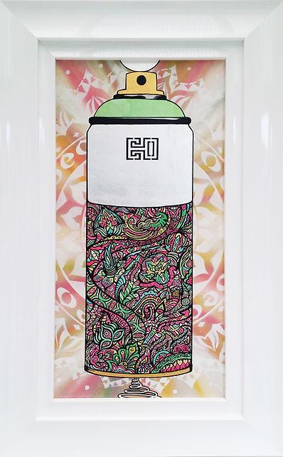 Mtn Spray Cans graffiti artwork