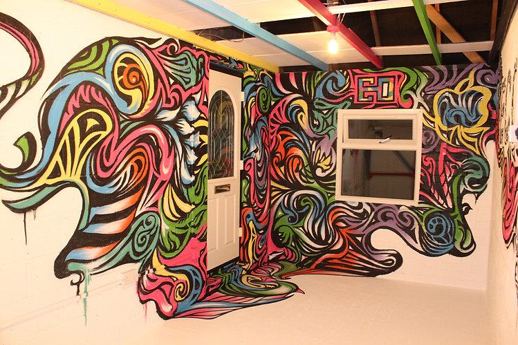 Art Studio Mural Graffiti Streetart