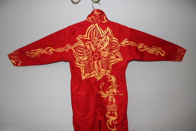 Japanese Mandala Airbrush Customised Clothing