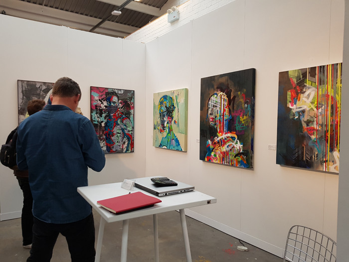 Worldart Gallery at Moniker Art Fair