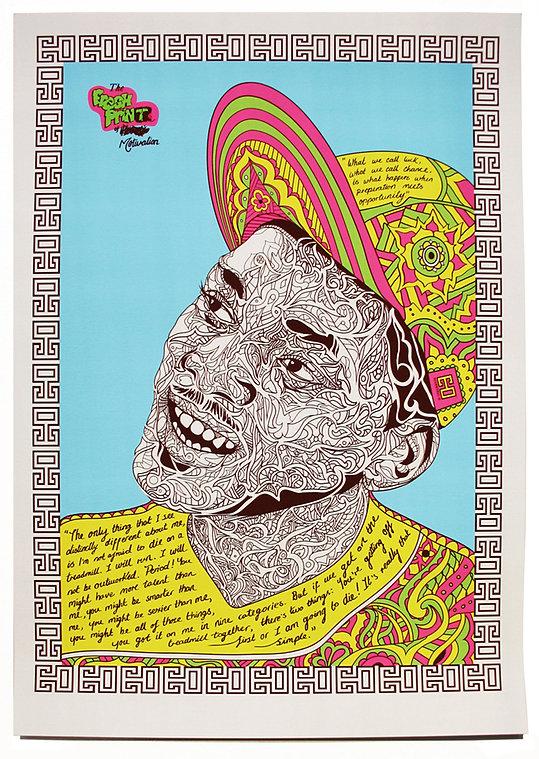 Will Smith - Fresh Prince Portrait by Eccentric O
