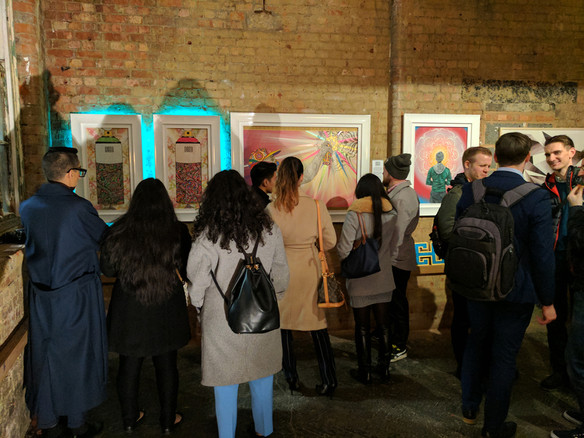 EO x Exhibit Here @ Bargehouse OXO Tower Wharf