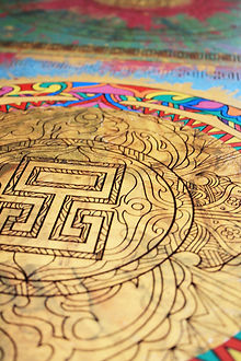Spiritual tibiten Mandala