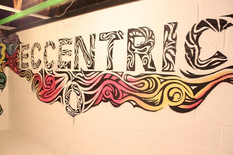 Art Studio Mural Graffiti