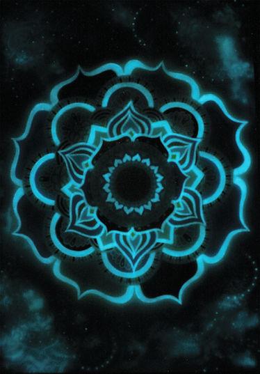 Photoluminiscent Mandala Glow