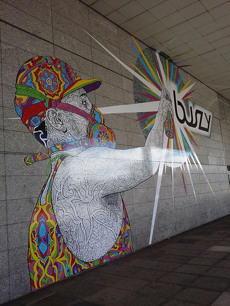 Milton Keynes Art Graffiti Mural