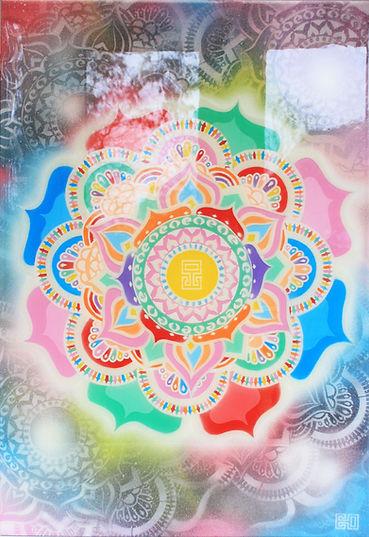 Beautiful Mandalas Resin