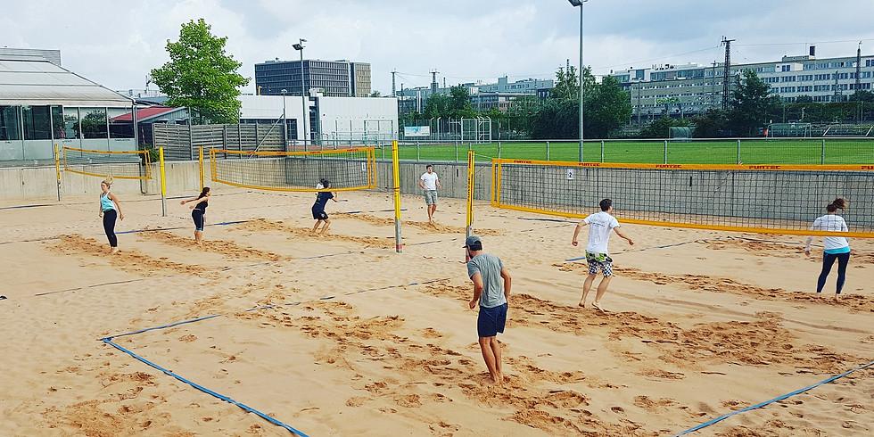 Mittwoch Schnuppertraining/Probetrainung Beachvolleyball