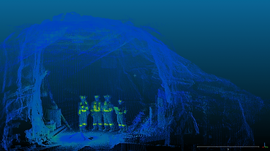 Clickmox Solutions 3D Laser Scanning an Mapping Underground Mines