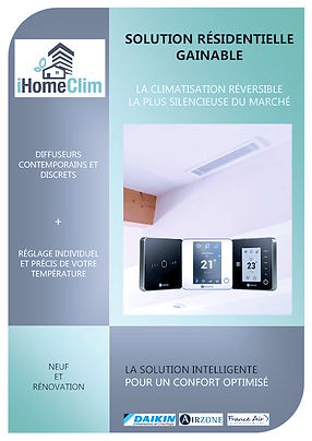Solution résidentielle Gainable