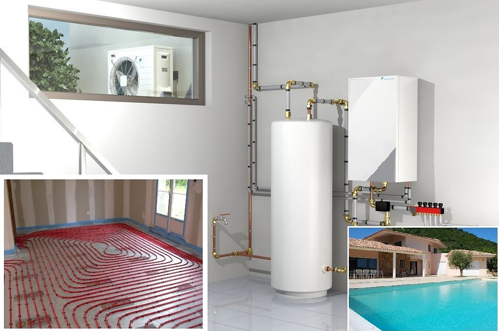 Entreprise Pompe à chaleur Aix en Provence. Etude, devis, installation, entretien, dépannage de PAC Air Air et Air Eau à Aix en Provence
