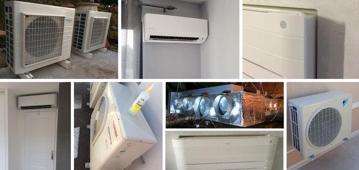 IHOME CLIM Nos prix et tarifs pour l'installation de votre système de climatisation et climatisation réversible de Toulon à Aix-en-Provence de Marque Daikin Atlantic Toshibe et Mitsubishi